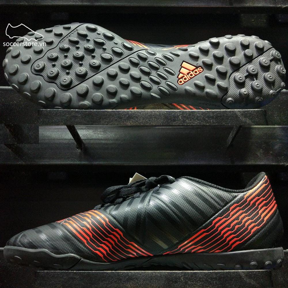 Adidas Nemeziz Tango 17.4 TF- Core Black/ Solar Red CP9059