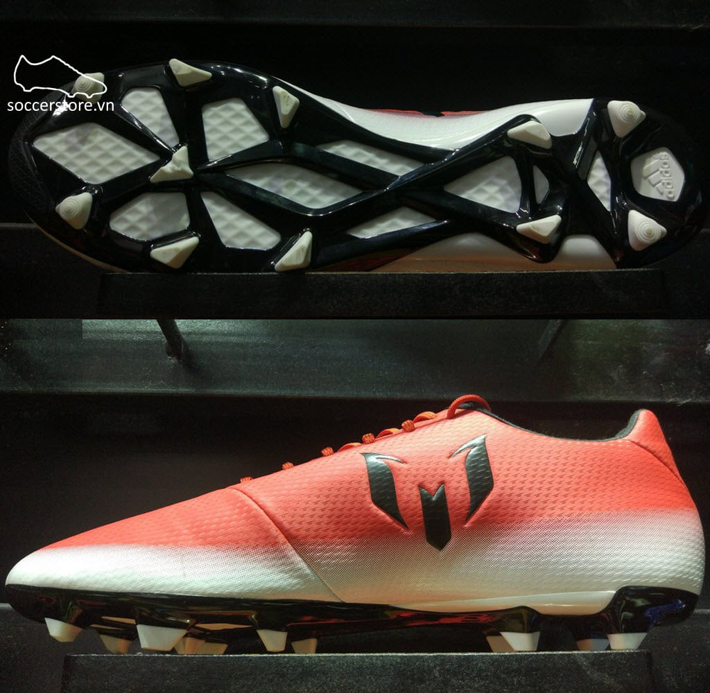Adidas Messi 16.3 FG/AG- Red/ Core Black/ White BA9020