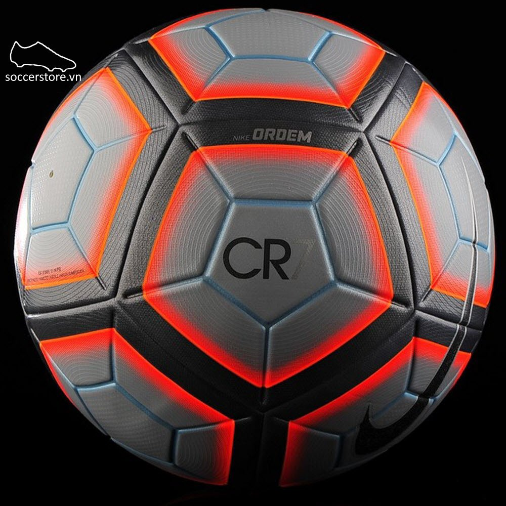 Bóng Nike Ordem CR7- Wolf Grey/ Total Crimson/ Silver SC3041-012