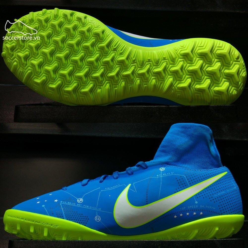 Nike Mercurial Victory VI DF Neymar Kids TF- Blue Orbit/ White/ Armory Navy 921492-400