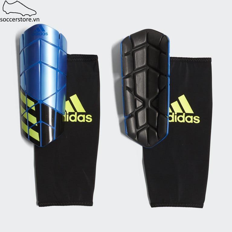 Lót ống đồng Adidas X Pro Shinguard- Blue/ Black/ Solar Yellow CW9712