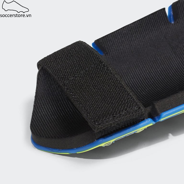 Lót ống đồng Adidas X Lite Shinguard- Blue/ Black/ Solar Yellow CW9718