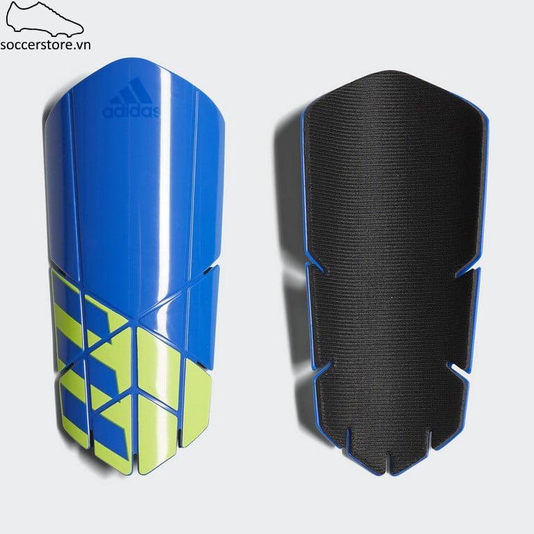 Lót ống đồng Adidas X Lesto Shinguard- Blue/ Black/ Solar Yellow CW9716