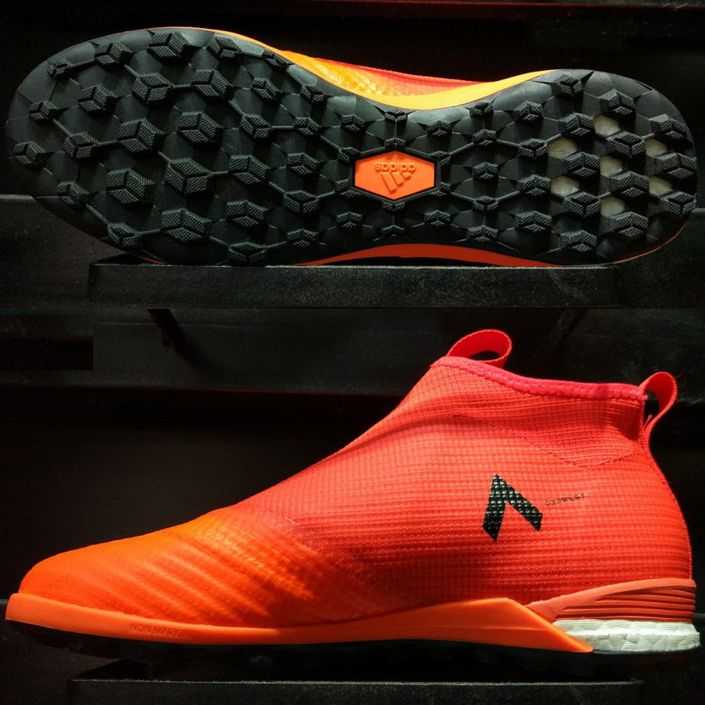 Adidas Ace Tango 17+ Purecontrol TF- Solar Red/ Solar Orange/ Core Black BY2228
