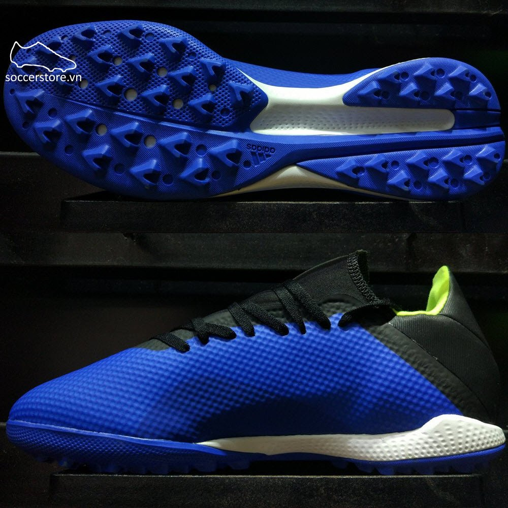 Adidas X Tango 18.3 TF- Blue/ Solar Yellow/ Core Black DB1955