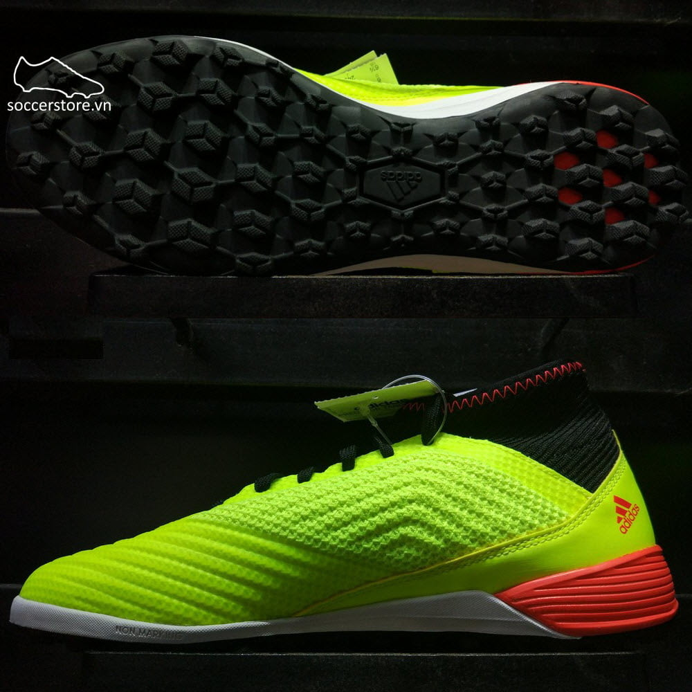 Adidas Predator Tango 18.3 TF- Solar Yellow/ Core Black/ Solar Red DB2134