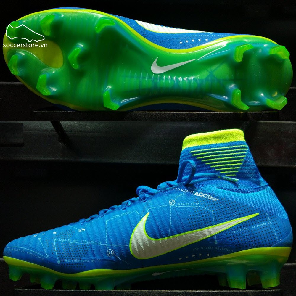 Nike Mercurial Superfly V Neymar FG- Blue Orbit/ White/ Armory Navy 921499-400