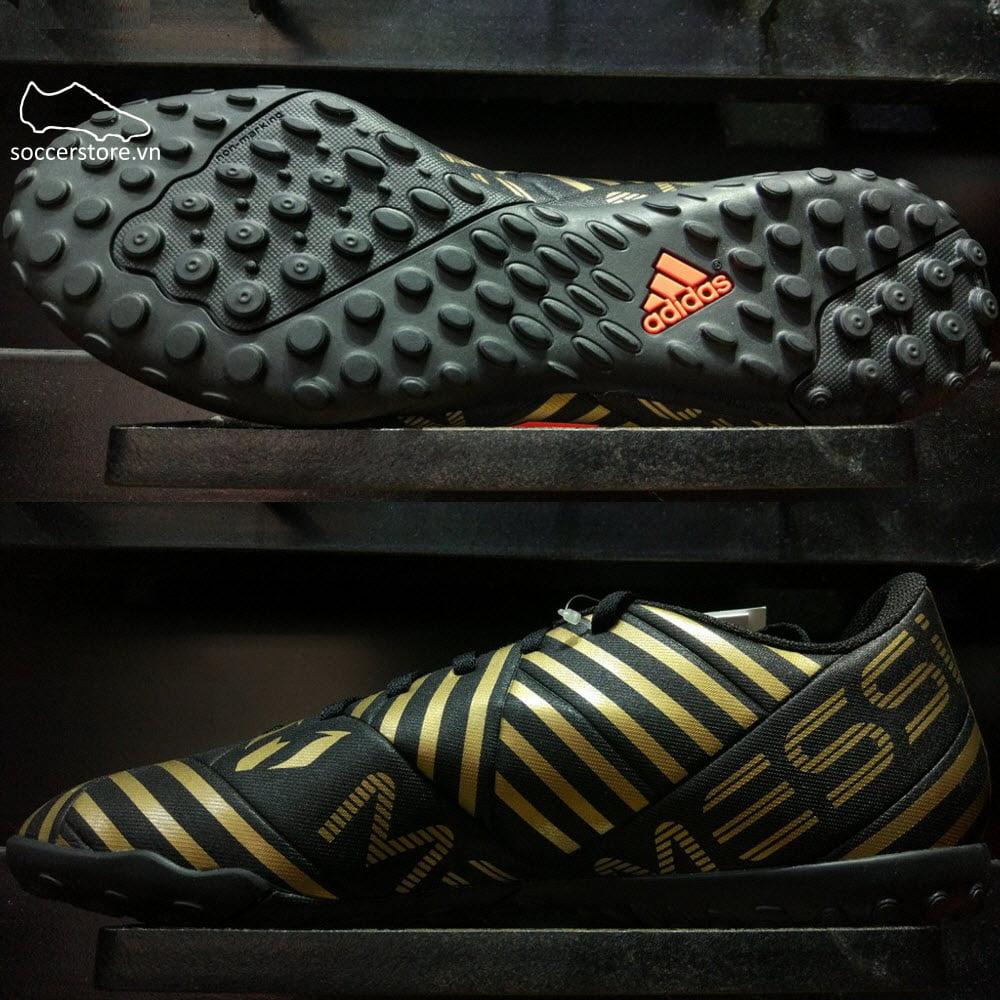 Adidas Nemeziz Messi Tango 17.4 TF- Core Black/ Solar Red/ Tactile Gold Metallic CP9070