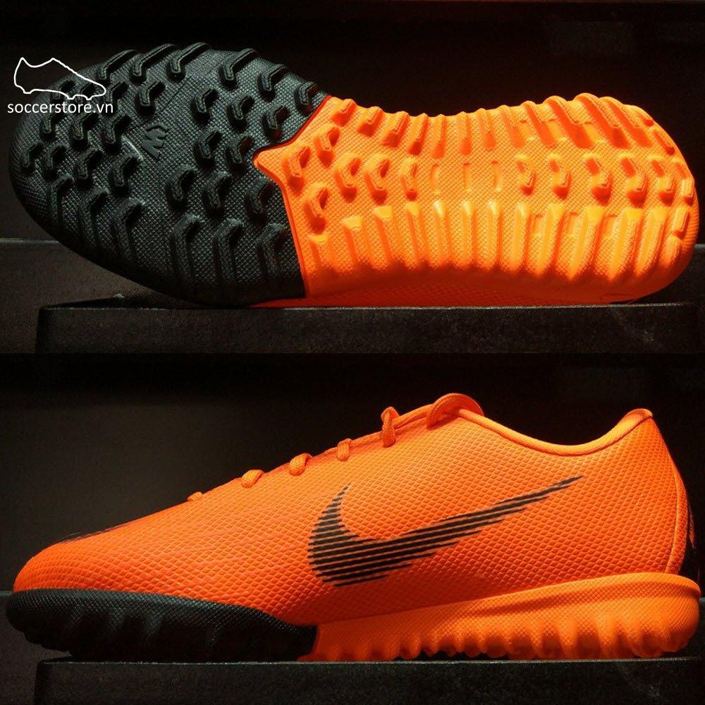 Nike Mercurial VaporX XI Academy Kids TF- Total Orange/ Black/ Volt AH7342-810