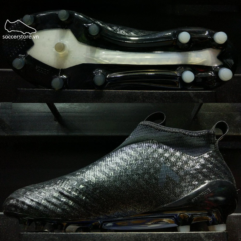 Adidas Ace 17+ Purecontrol FG- Core Black/ White BB4310