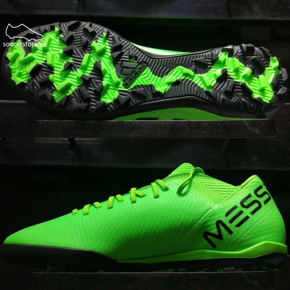 Adidas Nemeziz Messi Tango 18.3 TF - Solar Green/ Core Black/ Solar Green AQ0612