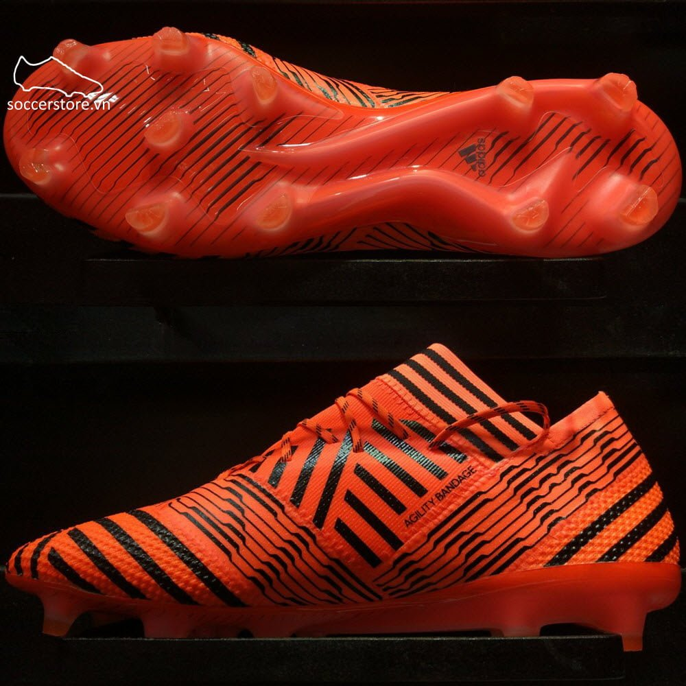 Adidas Nemeziz 17.1 FG- Solar Orange/ Core Black/ Solar Red BB6079