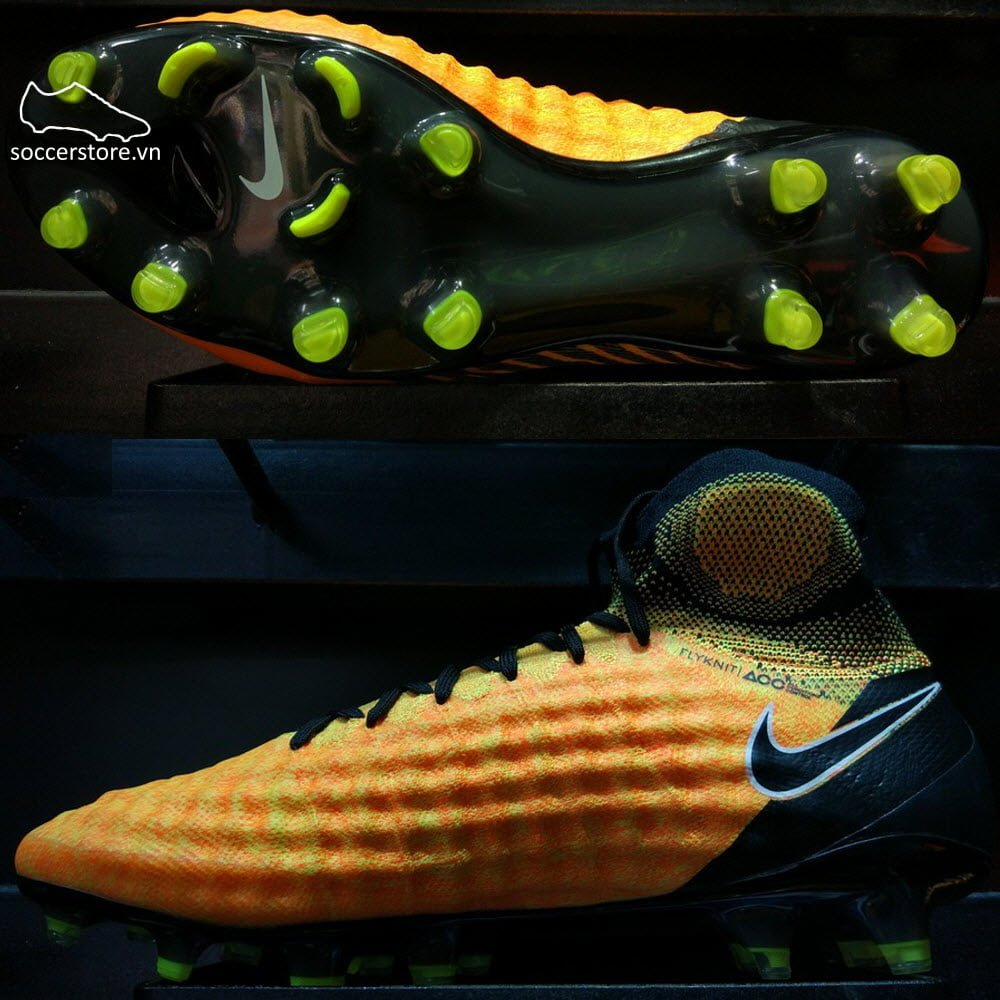 Nike Magista Obra II FG- Laser Orange/ Black/ White 844595-802
