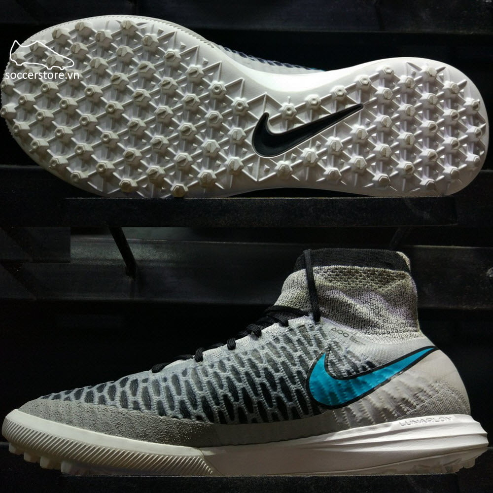 Nike MagistaX Proximo TF- Wolf Grey/ Turquoise Black 718359-040