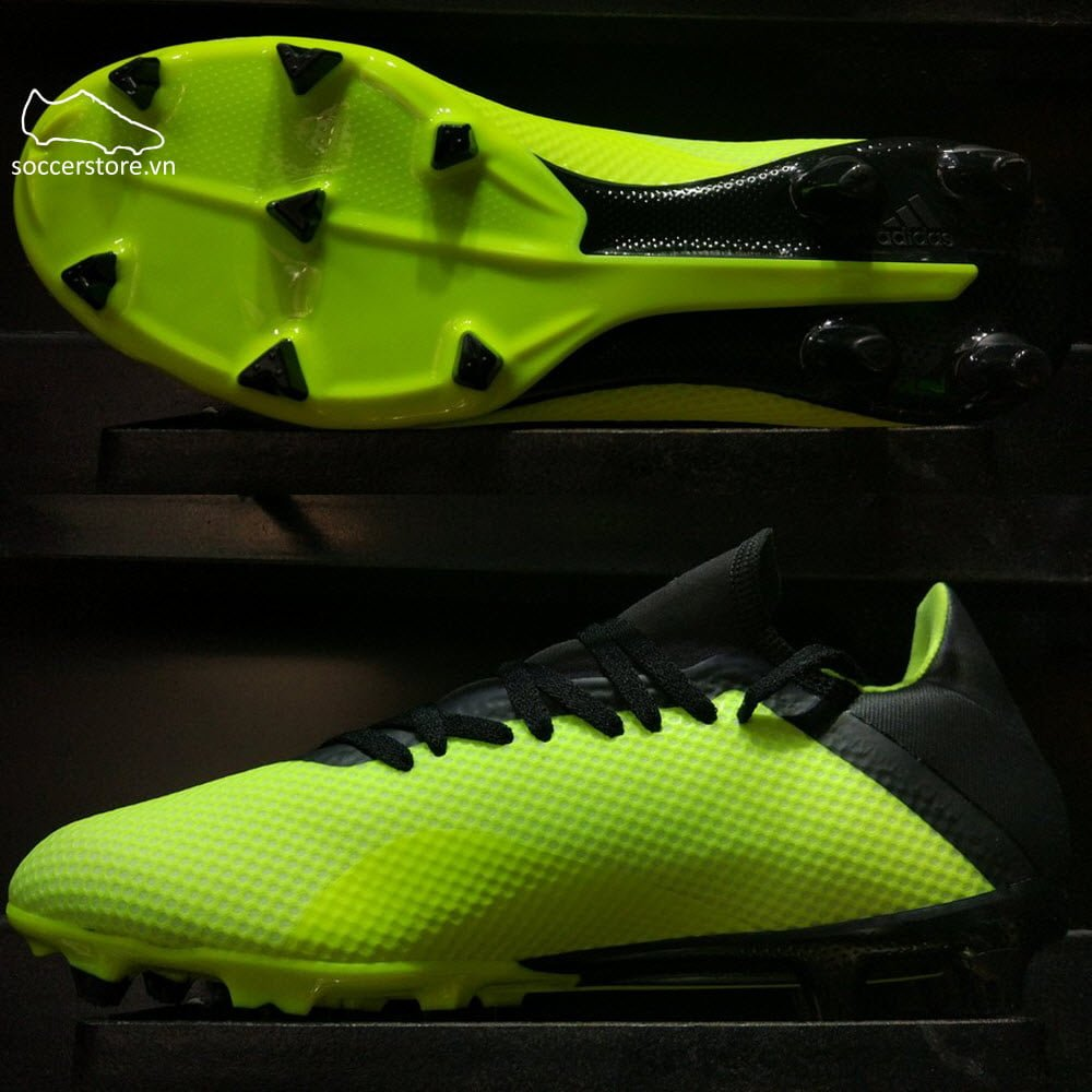 Adidas X 18.3 FG- Solar Yellow/ Core Black/ White DB2183