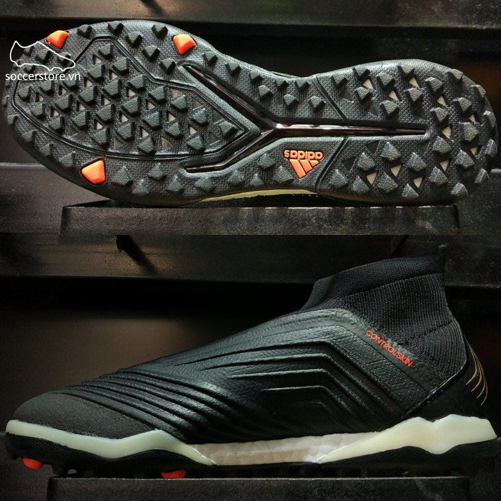 Adidas Predator Tango 18+ TF- Core Black/ White/ Solar Red CM7673