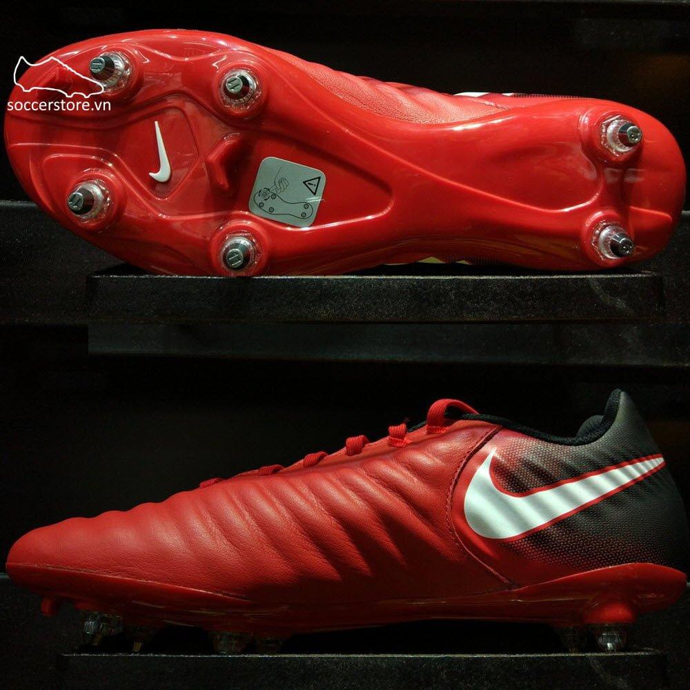 Nike Tiempo Ligera IV SG- University Red/ White/ Black 897745-616