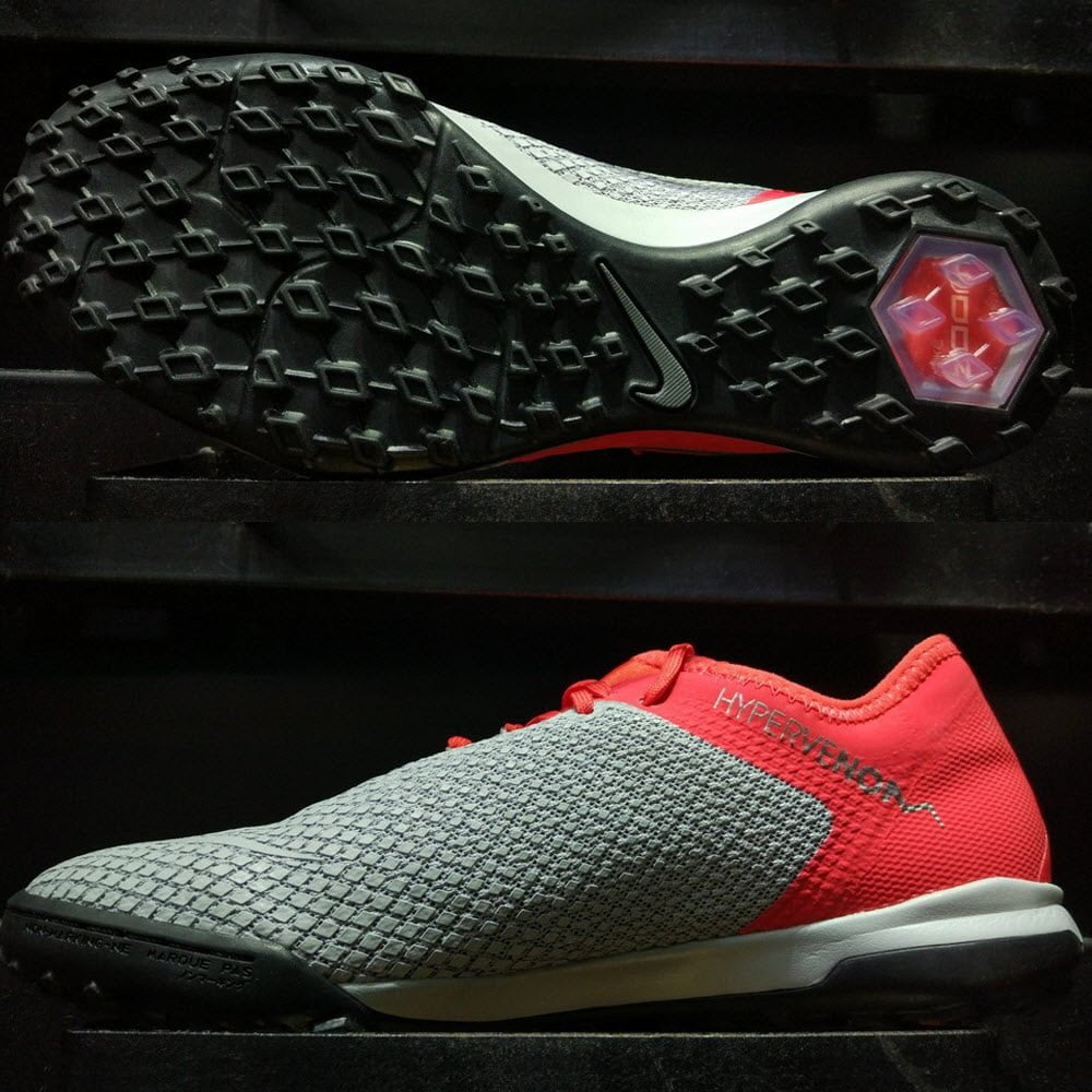 new concept e0615 6613c Nike Hypervenom Phantom III Pro TF Zoom- Light Crimson ...