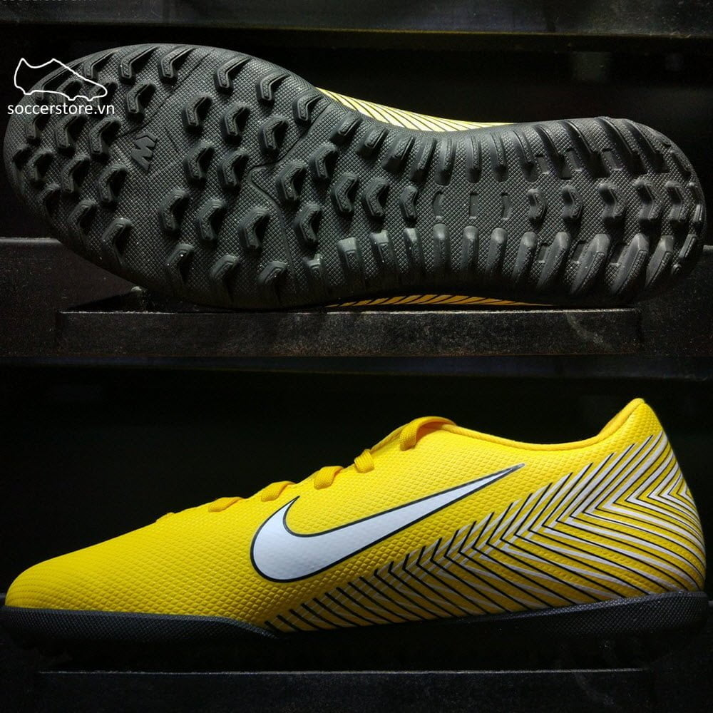 Nike Mercurial Vapor XII Club Neymar TF- Amarillo/ White/ Black AO3119-710