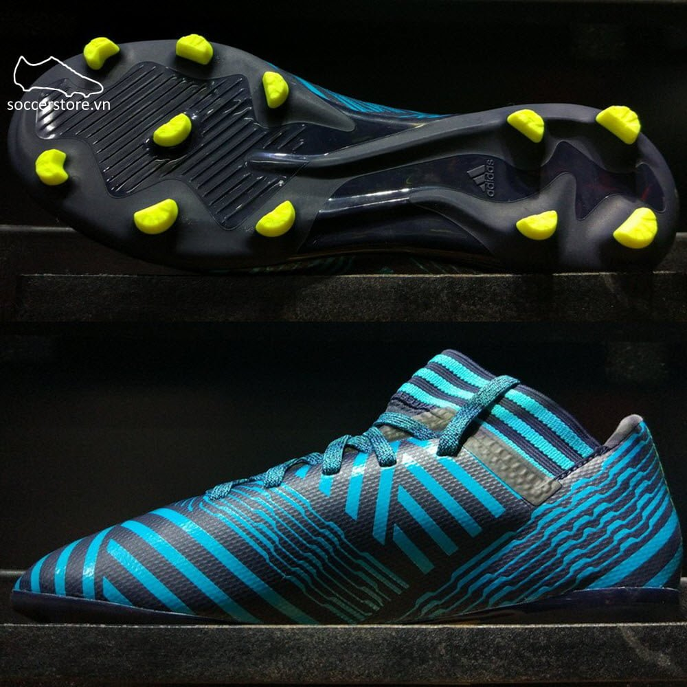 1ca06a3a5b88 Adidas Nemeziz 17.3 Kids FG- Legend Ink  Solar Yellow  Energy Blue S82427