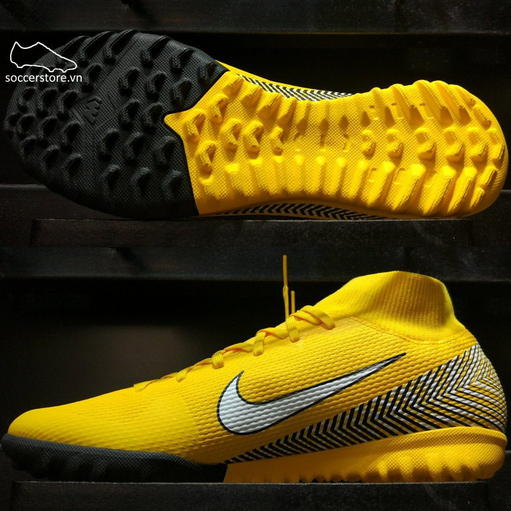 Nike Mercurial Superfly VI Academy Neymar TF- Amarillo/ White/ Black AO9469-710