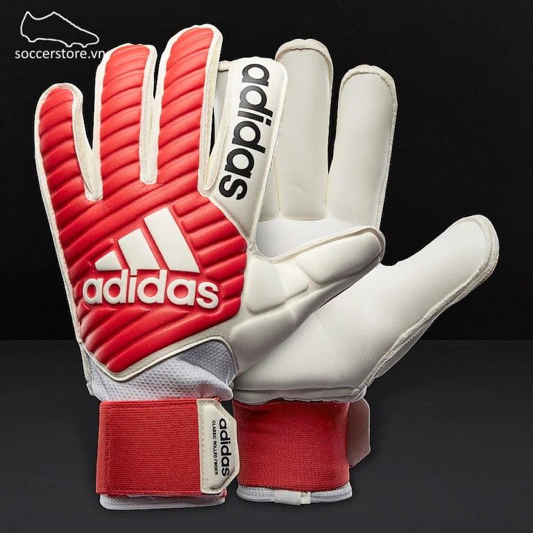 Adidas Classic Gunn Cut - Real Coral/ White GK Gloves CF9004