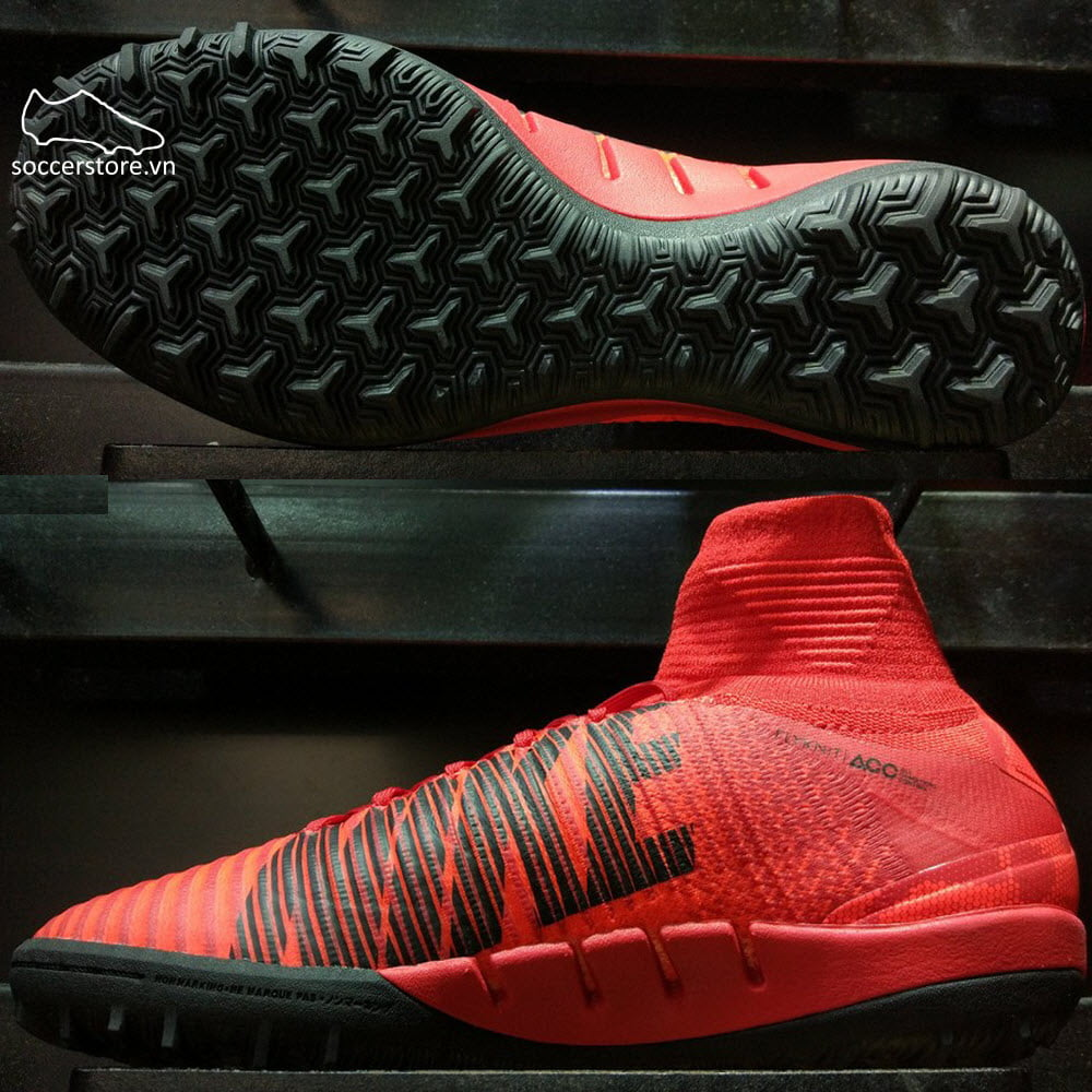 Nike MercurialX Proximo II TF- University Red/ Black/ Bright Crimson 831977-616