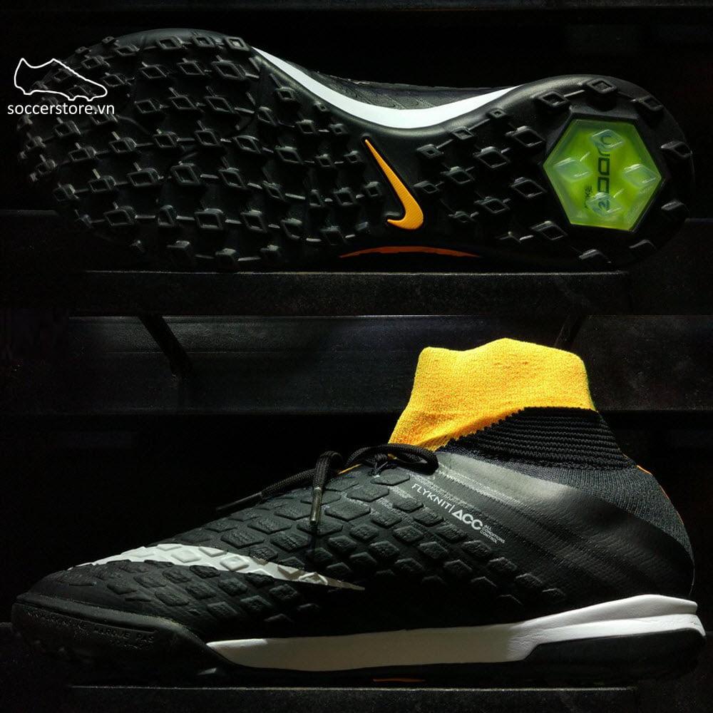 Nike HypervenomX Proximo II DF TF Kids - Laser Orange/ Black/ Volt 852601-801