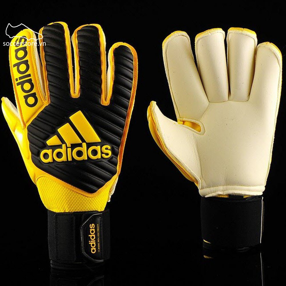 Adidas Classic Gunn Cut- Core Black/ Yellow BS1539