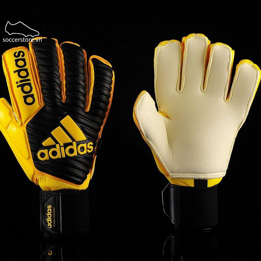 Adidas Classic Finger Save- Core Black/ Yellow BS1533