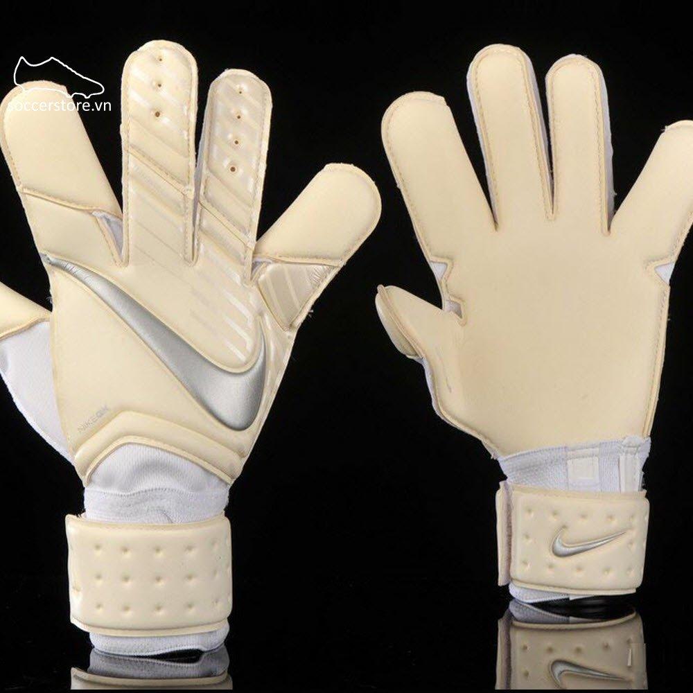 Nike Vapor Grip 3- White/ Chrome GS0347-100
