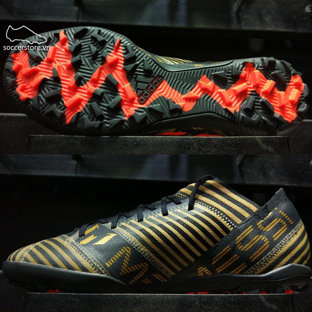 Adidas Nemeziz Messi Tango 17.3 TF- Core Black/ Solar Red/ Tactile Gold Metallic CP9108