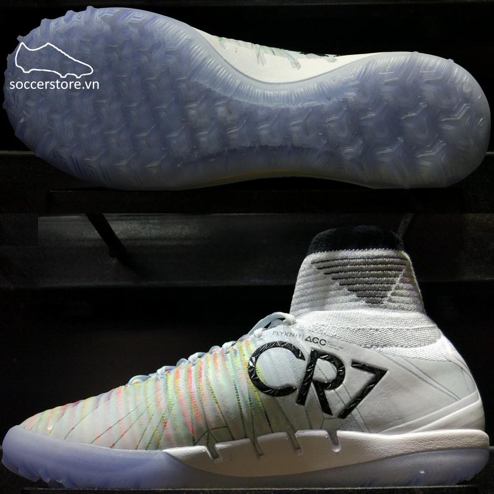 Nike MercurialX Proximo II CR7 TF- White/ Blue/ Tint 878645-401