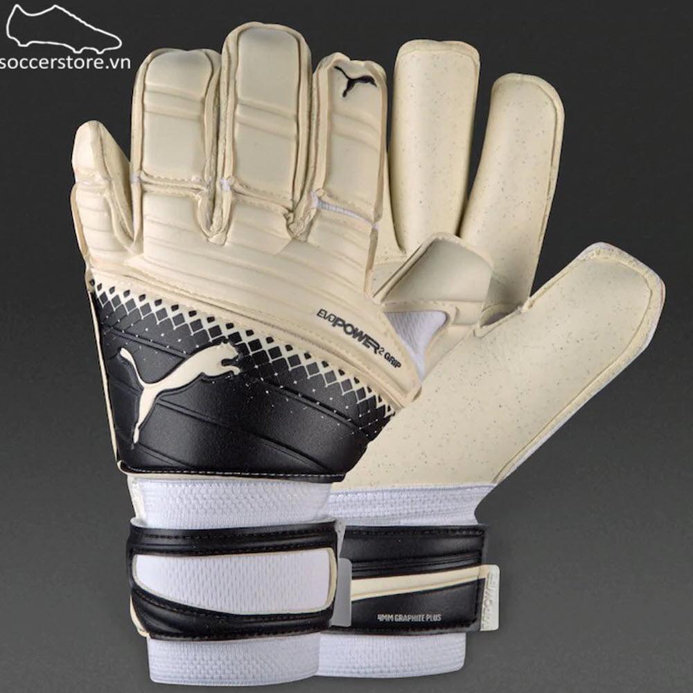 Puma evoPower 2.3 Grip GC Junior- White/ Puma Black 041337-01B