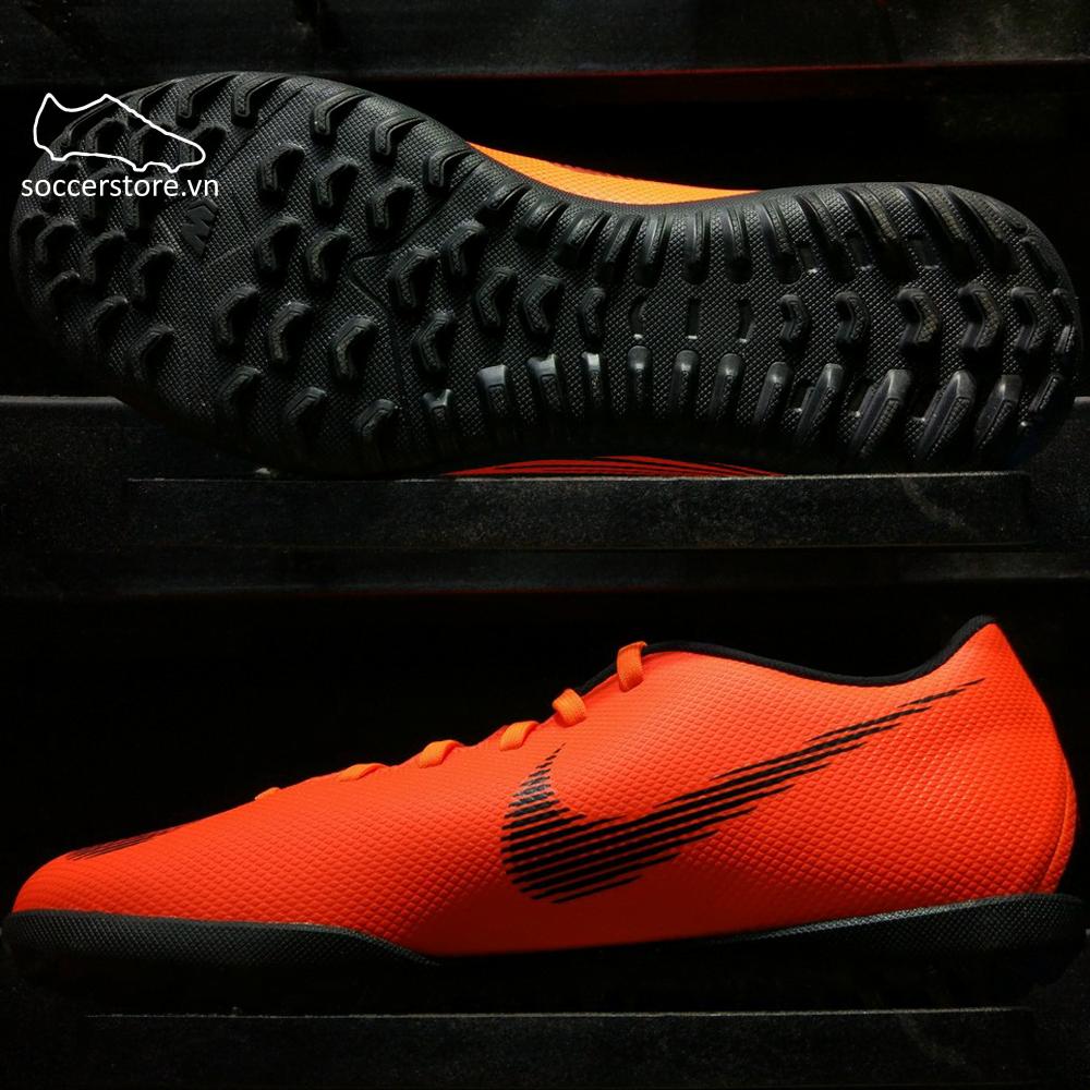Nike Mercurial Vapor XII Club TF- Total Orange/ Black/ Volt AH7386-810