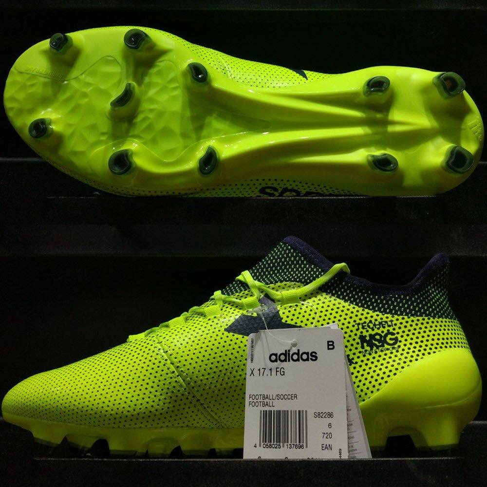 Adidas X 17.1 FG - Solar Yellow/ Legend Ink/ Legend Ink S82286