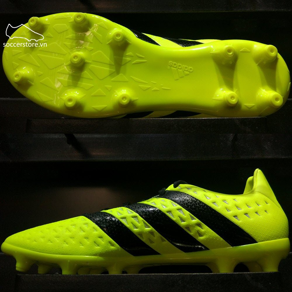 Adidas ACE 16.3 FG/AG - Solar Yellow/Core Black/Silver Metallic S79713