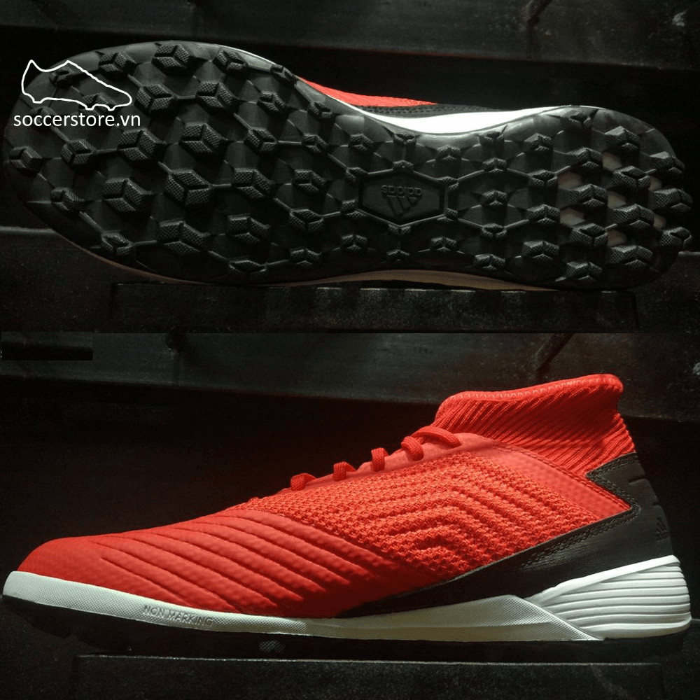 Adidas Predator Tango 19.3 TF- D97962- Active Red/ Solar Red/ Core Black
