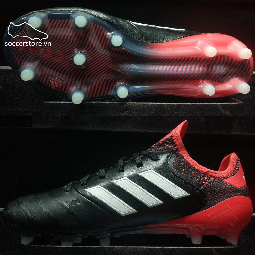 Adidas Copa 18.1 FG- Core Black/ White/ Real Coral CM7663