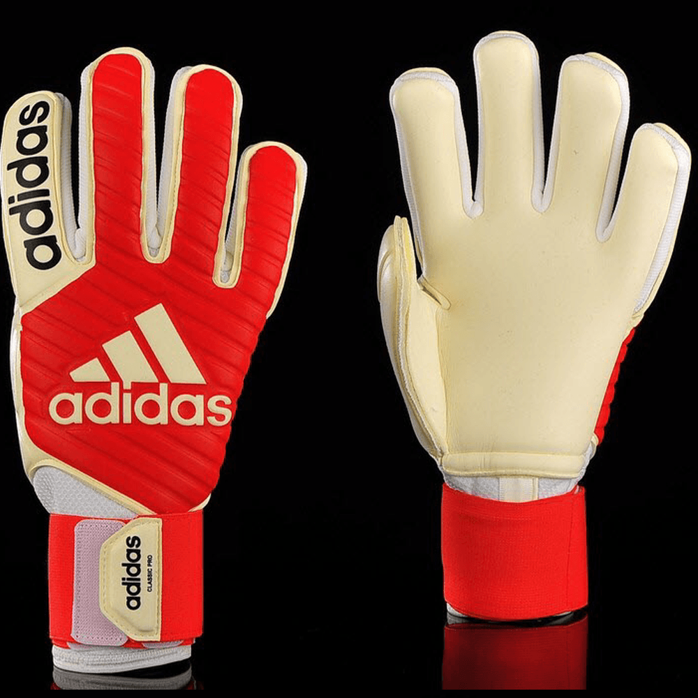 Adidas Classic Pro- Real Coral/ White GK Gloves CF0103