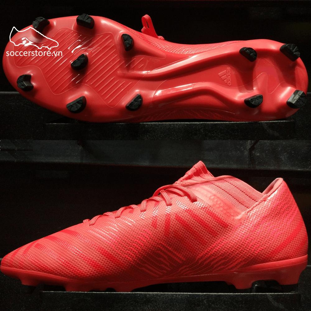 Adidas Nemeziz 17.3 FG- Real Coral/ Red Zest/ Core Black CP8987