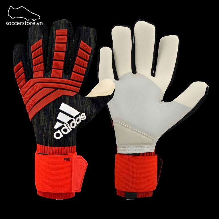 Adidas Predator Pro- Black/ Red/ White CW5589