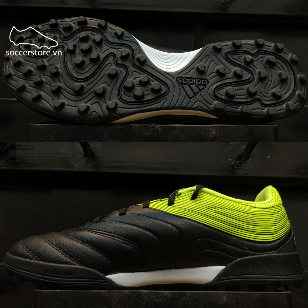 Adidas Copa Tango 19.3 TF- Core Black/ Solar Yellow BB8094