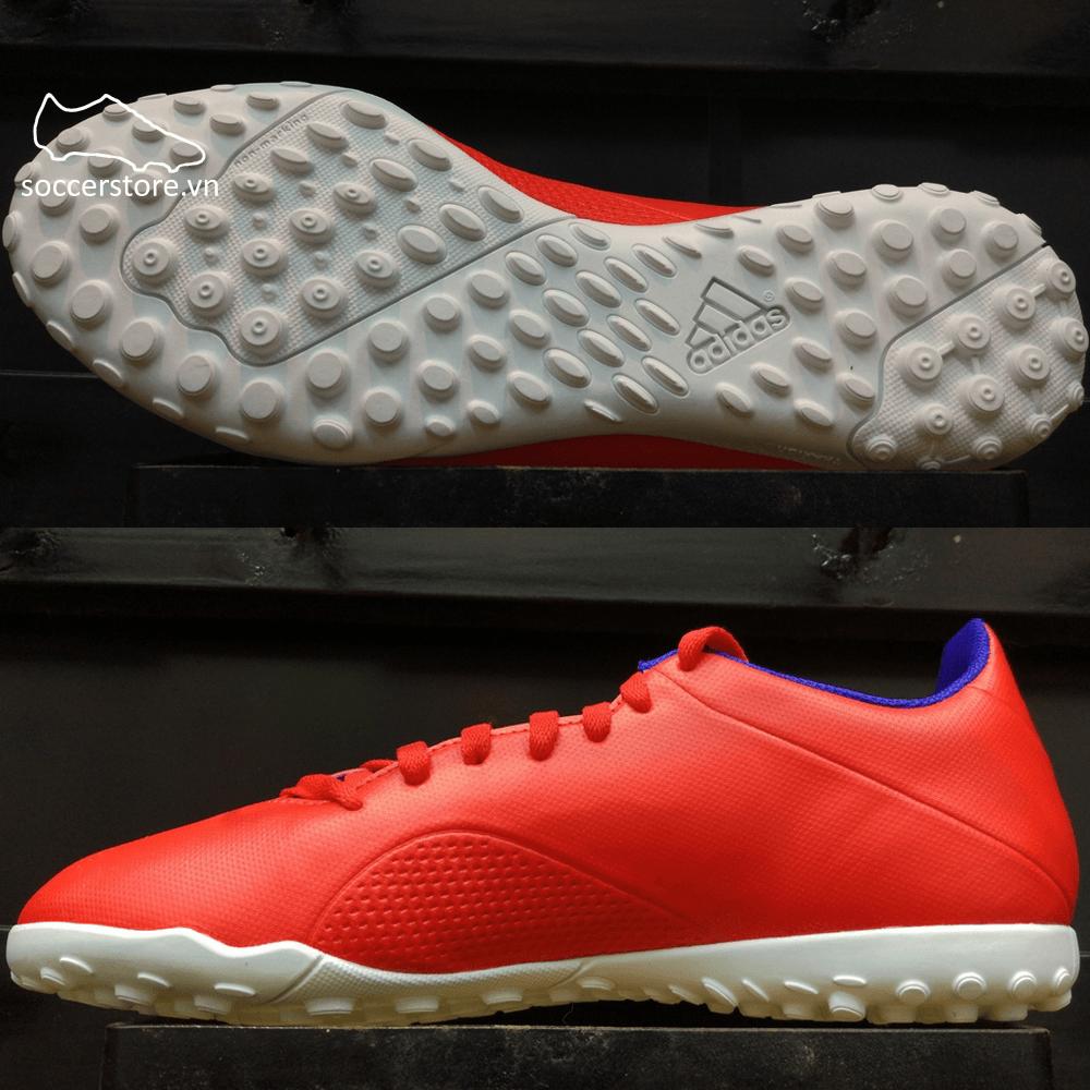Adidas X Tango 18.4 TF- Active Red/ Silver Metallic/ Bold Blue BB9413