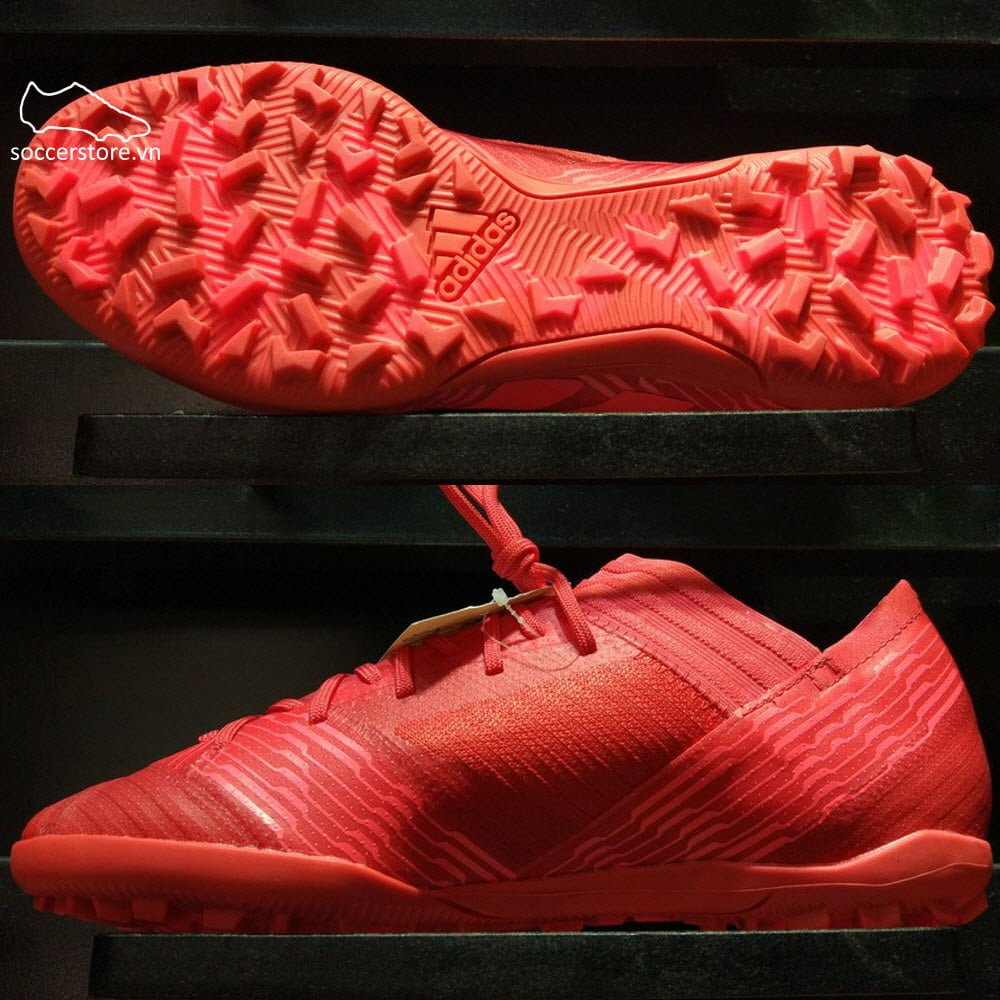 35a1dbf5c283 Adidas Nemeziz Tango 17.3 Kids TF- Real Coral  Red Zest  Core Black CP9238