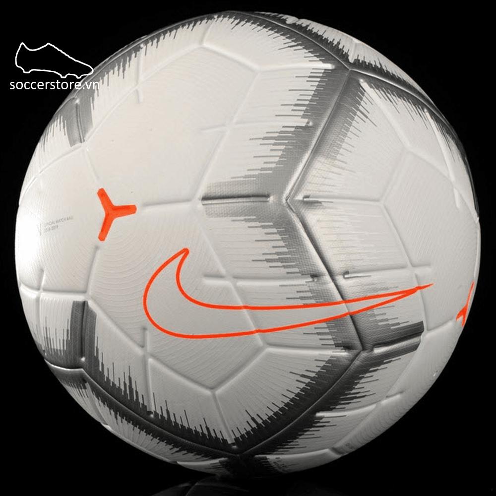 Bóng Nike Merlin Limited Edition- White/ Chrome/ Total Orange SC3493-100
