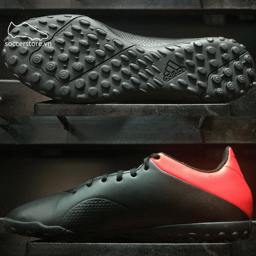 Adidas X Tango 18.4 TF- BB9412- Core Black/ Off White/ Active Red