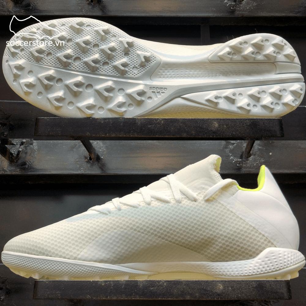 Adidas X 18.3 TF - White/ Solar Yellow BB9400