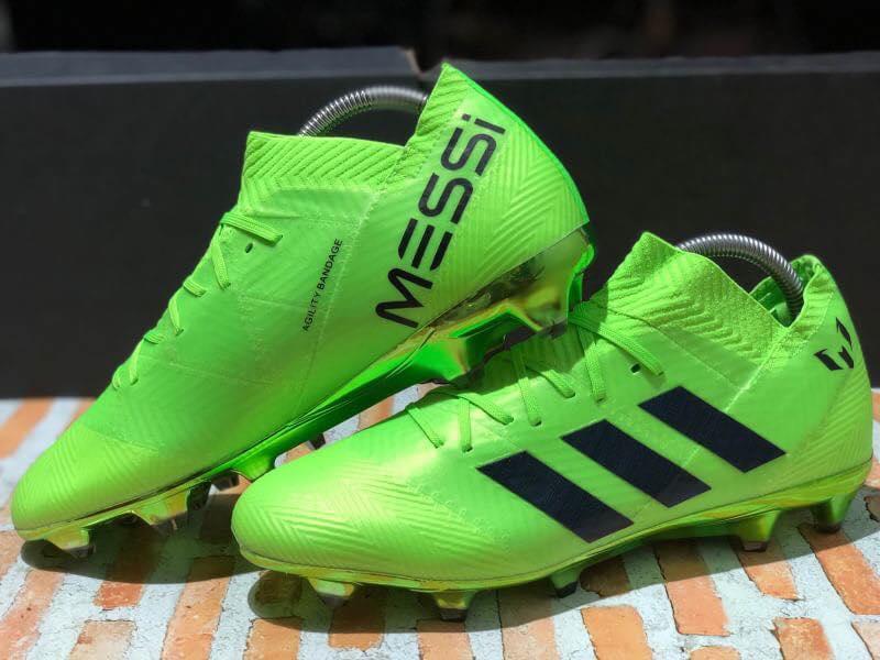 Nhìn lại và đánh giá giày Adidas Nemeziz 18.1