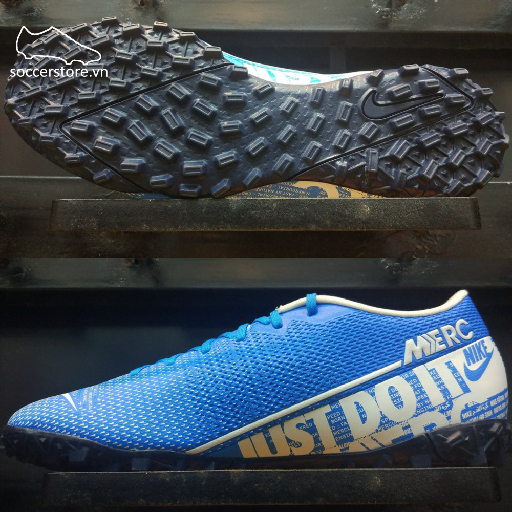 Nike Mercurial Vapor XIII Academy- Blue Hero/ White/ Obsidian AT7996-414
